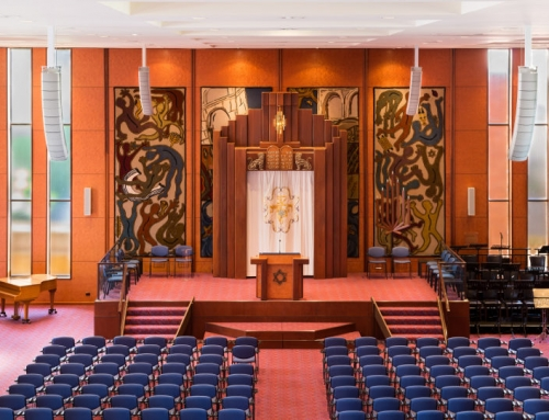 Temple Beth Israel Synagogue Sound and AV Systems